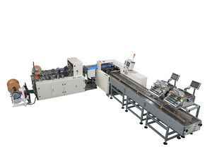 Automatic bagging machine with card issuing machine