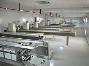 Packaging machine workshop