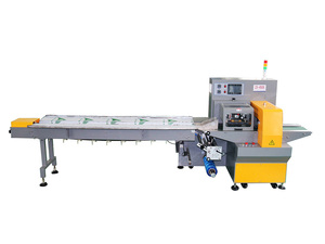 ZS-450X push rod type three servo pillow packing machine