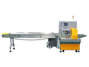 ZS-220X push rod type three servo pillow packing machine
